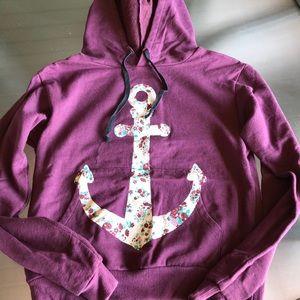 Floral anchor Sweatshirt